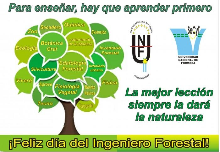 Tarjeta Dia Ingeniero Forestal