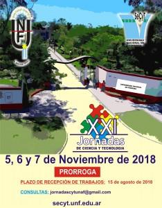 Afiche JCyT 2018